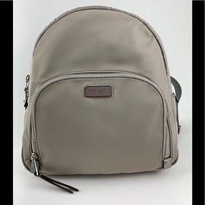 KATE SPADE Gray New York Dawn Med Nylon Backpack